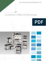 WEG Cont at Ores e Reles de Sobrecarga Folheto 50009815 Catalogo Portugues Br