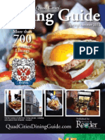Quad Cities' Dining Guide - Spring_Summer 2012