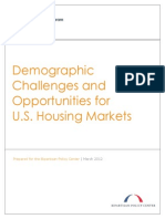 Demographic Challenges and Opportunities for U.S. Housing Markets