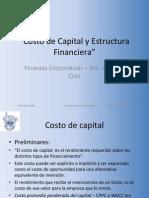 Presentacion Costo Cap y Estruc Finan