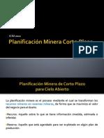 Planificación Minera Corto Plazo
