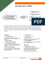 Datasheet HPMSL PT