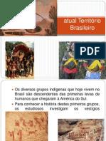 Os povoadores do atual Território Brasileiro