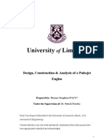 Design, Construction & Analysis of a Pulsejet Engine