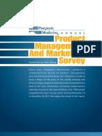 2011 2012 Annual Survey Pragmatic Mktg