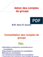 Slides Consolidation Des Comptes de Groupe ENCG Settat