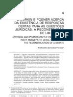 Dworkin e Posner Debate ...