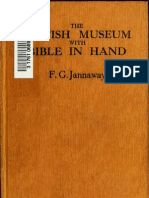 The British Museum With Bible in Hand - Frank Jannaway