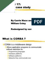 Ch 17 CORBA Presentation