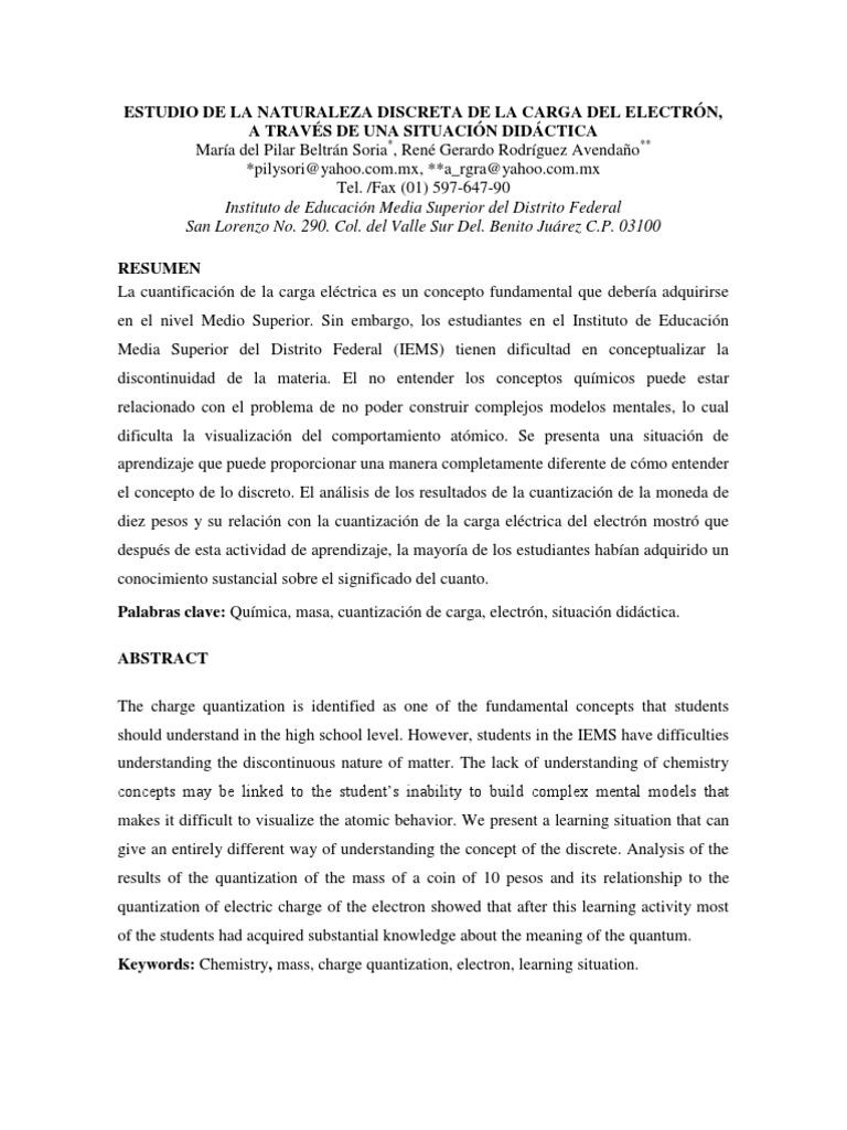 Concepto de peso atomico yahoo ukindex enlace qumico estudio de la naturaleza discreta de la carga del electrn tabla periodica definicion yahoo urtaz Images