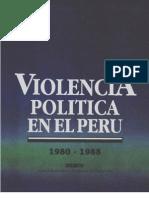Violencia Politica en el Perú 80-88 I