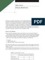 2005 CQ a Defense of Ethical Relativism
