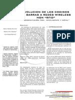"""Evolucion de los codigos de barras a redes wireless ngn """"RFID"""""""
