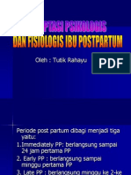 Adaptasi Psikologis Dan Fisiologis Ibu Postpartum