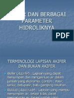 Kuliah Hidrogeologi Umum Minggu 3