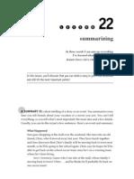 S3 - Lesson 22 Summarizing)