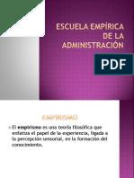 Escuela Empírica De la Administración