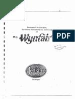 WynfairCovenants