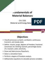 4 Material Balances