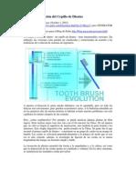 20100601-Evolucion Del Cepillo de Dientes