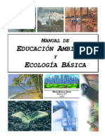 Manual de Educacion Ambiental y Ecologia Basica