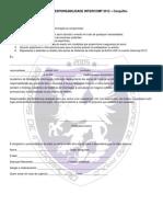Intercomp 2012 - Termo de Responsabilidade