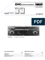 service manual GRUNDIG EC4290CD