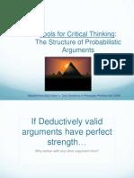 Probablistic Arguments Ch.3 1.2012