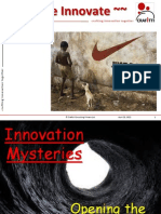 Innovation Mysteries - Opening the Pandora Box for Scribd