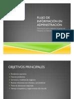 Flujo de información en administración