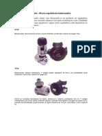 Reguladores Apeks Bi-balanceados - Esquema