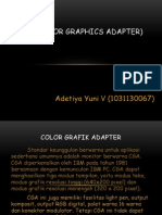 Color Graphic Array