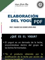 Elaboracion Yogurt