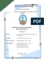 Plan de Auditoria NISIRA SAC