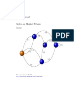 Notes on Markov Chains