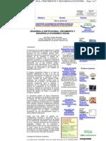 Desarrollo Institucional Crecimiento-- 7 Paginas