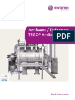 Brochure Antifoams Defoamers Tego Antifoam