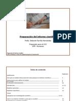 informe cientifco diapositivas