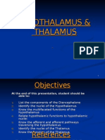 Hypothalamus and Thalamus .Physiology - Copy