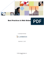 Web Globalization Best Practices