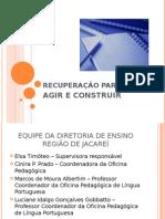 0 - rec Paralela Para Profess Ores 2011-SLIDES