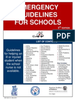 Emergency Guidelines for Schools 2_2007