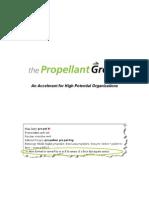The Propellant Group Manifesto