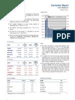 Derivatives Report 20th April 2012