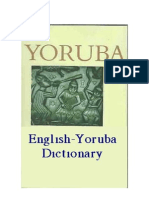 Yoruba dic