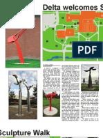 Sculpture Walk by Delta Collegiate Staff (MCCPA No Ranking)
