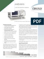 Aeroflex 3250 Spectrum Analyzer