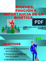 1.1  ORÍGENES DEFINICION E IMPORTANCIA
