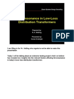 Delta Feroresonance Effects