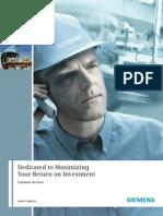 SIEMENS Brochure Customer Services En